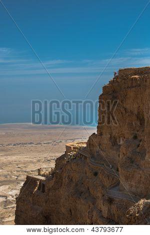 Masada National Park, King Herod's Mountain Palace-Fortress, Israel