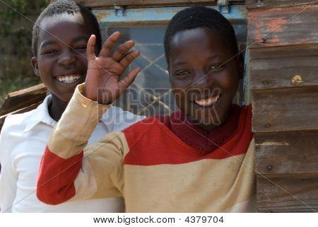 zwei simbabwische boys