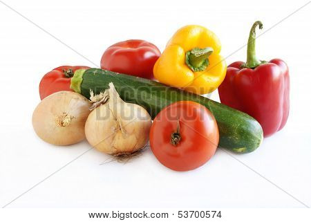 multicolor vegetables