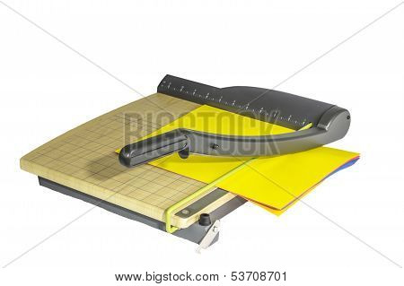Paper Cutter Isolated