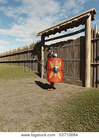 Roman Legionary Fort Guard