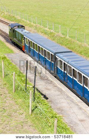 Ravenglass and Eskdale narrow gauge railway, Cumbria, England