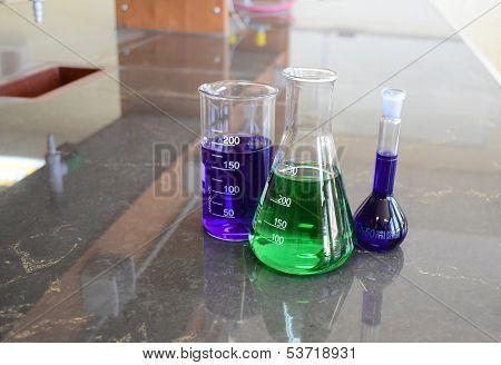 Some Lab Glassware