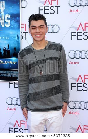 LOS ANGELES - NOV 9:  Adam Irigoyen at the AFI FEST