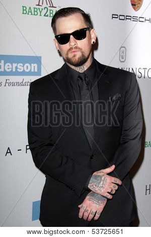 LOS ANGELES - NOV 9:  Benji Madden at the Second Annual Baby2Baby Gala at Book Bindery on November 9, 2013 in Culver City, CA
