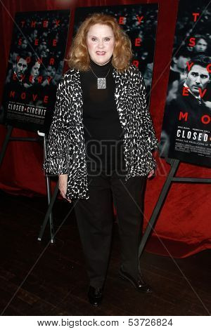 NEW YORK-AUG 19: Actress Celia Weston attends the 'Closed Circuit' screening at the Tribeca Grand Hotel on August 19, 2013 in New York City.
