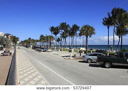 Busy Deerfield Beach