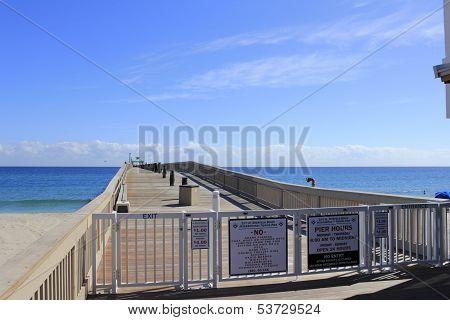 Fishing Pier Entrance