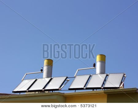 Solar Water Heating Panel