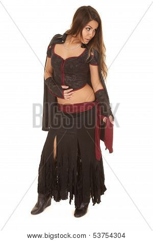 Woman Bandit Full Body