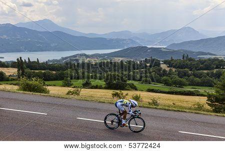 The Cyclist Thomas De Gendt