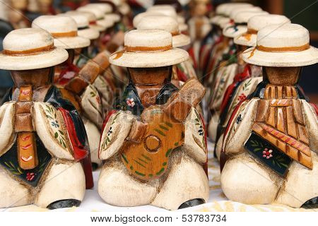 Carved Musicians