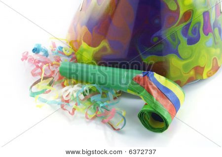 Party Hat And Blower