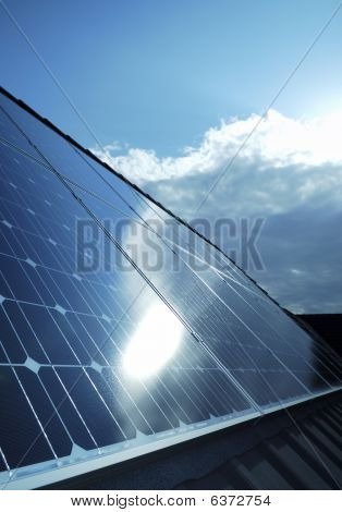 Electric Photovoltaic Solar Panels Cells