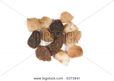 Close-up Photo Of Some Bits Brown Sweet Sugar