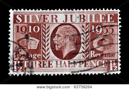 Silver Jubilee stamp 1935