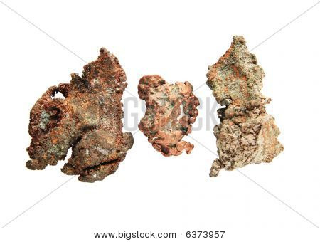 Native Copper Nuggets