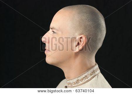 Buddhist, Side View