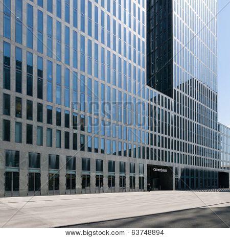 Credit Suisse Building in Zurich Oerlikon