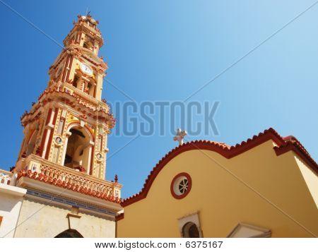 Panormitis Monastery Bell Tower.
