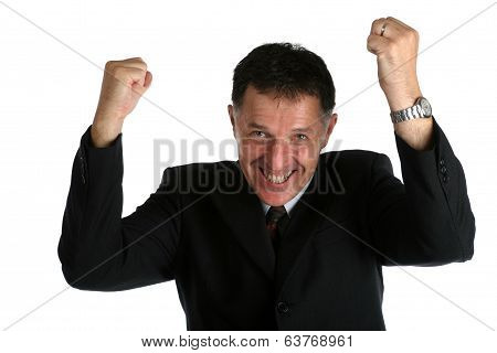 Happy Buisness Man