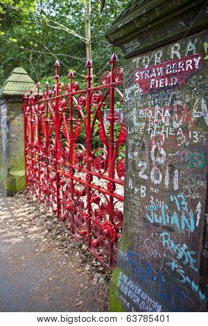 Strawberry Field In Liverpool