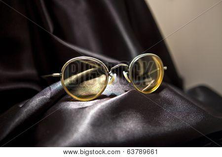John Lennon's Glasses In The Beatles Story Museum