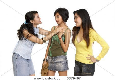 A Girl Got Bully By Her Friends