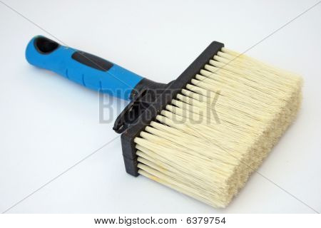 Emulsion paint brush.