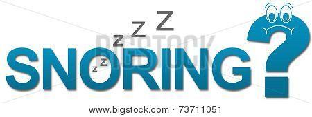 Snoring Sad Question Mark