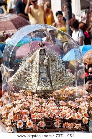 The Virgen de la Caridad del Cobre procession