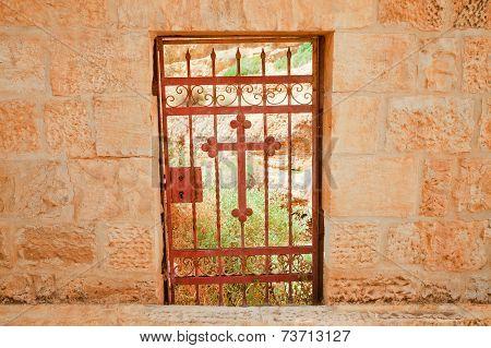 Old Door In A Convent