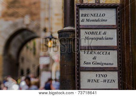 Banner Of Fine Wines