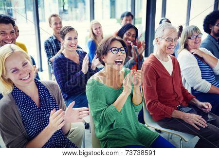 Group of People in Seminar