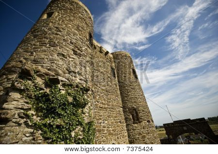 Ypres Tower, Battle
