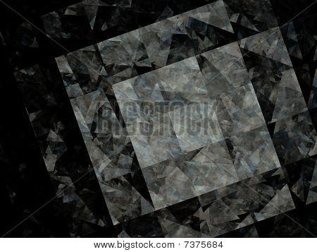 Fractal Design That Looks Like Broken Glass