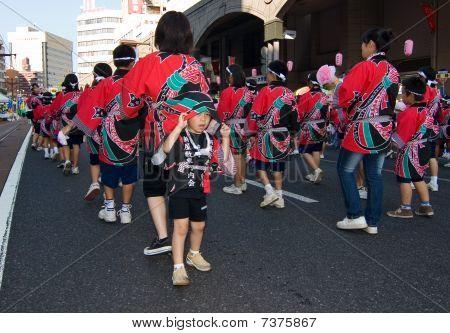 Japanese Festival Dancers