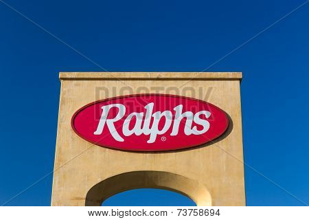 Ralphs Grocery Store Sign