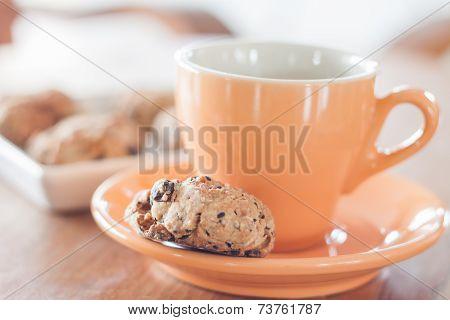 Coffee Break With Cereal Cookies