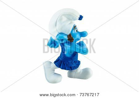 Gusty Smurf Toy Figure Model