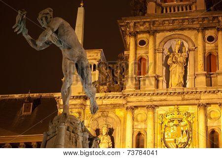 Statue of Brabo