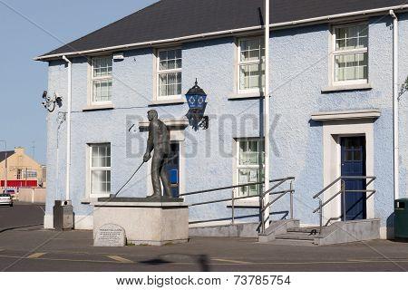 Garda Station In Ballybunion County Kerry, Ireland
