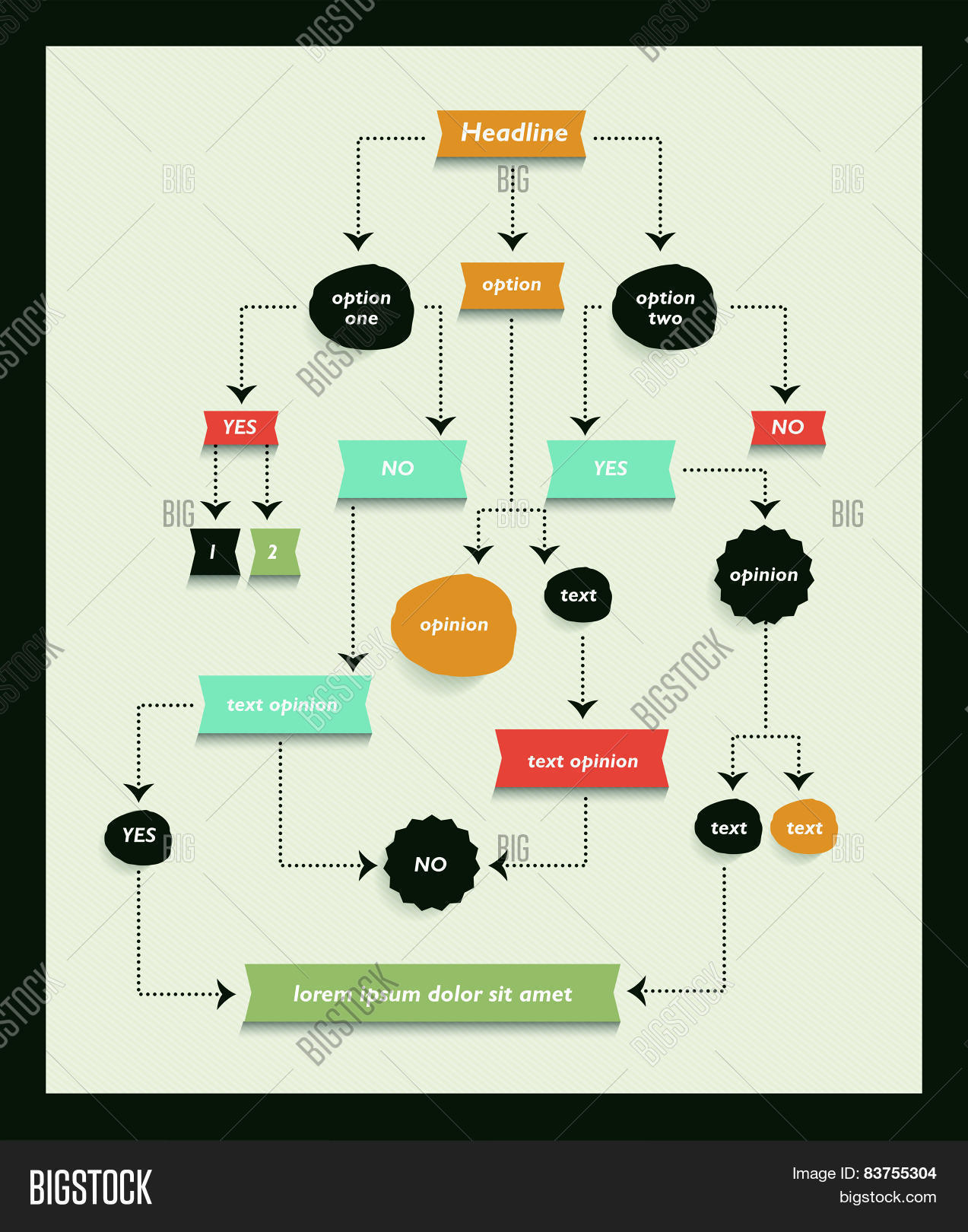 Flow chart diagram vector photo free trial bigstock flow chart diagram scheme infographic algorithm element ccuart Gallery