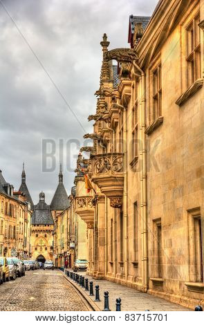 Palace Of The Dukes Of Lorraine In Nancy - France