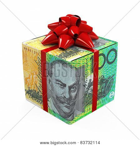 Australian Dollar Money Gift Box