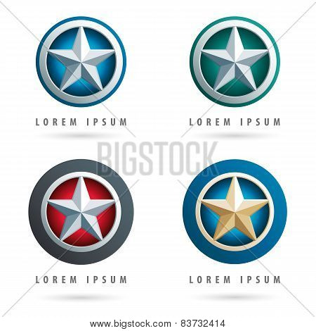 Star Shaped Logos
