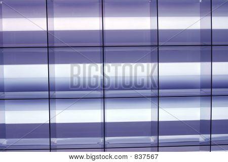 Blue Fluorescent Lights