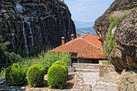 Monastery In The Meteora.