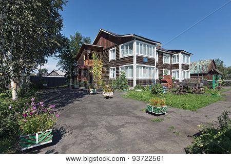 Kamchatka State Unified Museum, Milkovo Department. Milkovo Village, Kamchatka, Russia