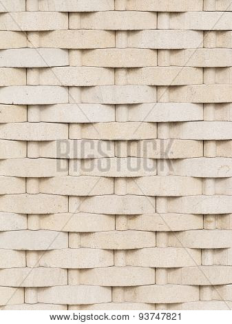 Decorative Stone With Braided Ornament